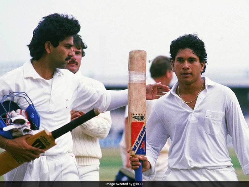 When Sachin Tendulkar hit his first Test century
